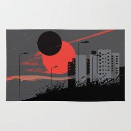 apocalypse city Rug