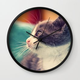Billy The Cat Wall Clock