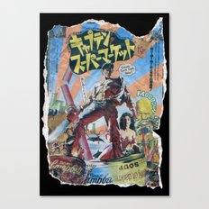 Army of Darkness: Pulped Fiction edition Canvas Print