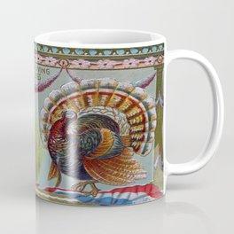 Thanksgiving Greetings 1906 Coffee Mug