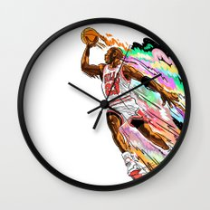 Air Time with Mike Wall Clock