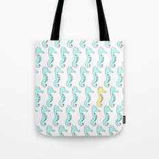 One Stand Out Seahorse Tote Bag