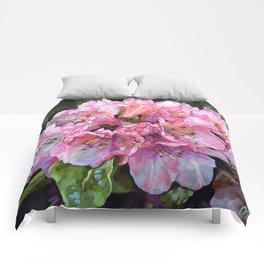 Courtenay Lady Rhododendron Comforters