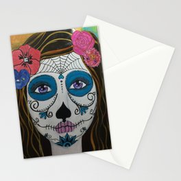 Day of the Dead Girl1 Stationery Cards