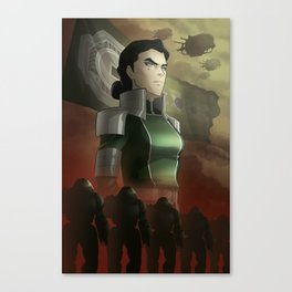 Kuvira - The Great Uniter Canvas Print