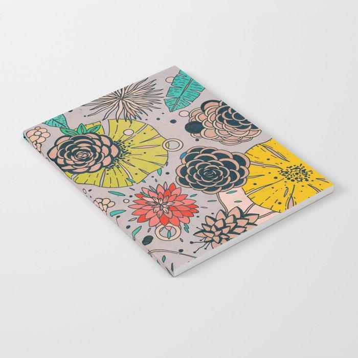 Olga loves flowers Notebook