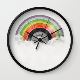 Rainbow Classics Wall Clock