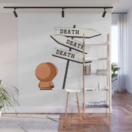 Death Death Death Kenny Wall Mural