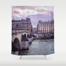 Le Pont Royal, Paris. Shower Curtain