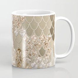 Mermaid Glitter Scales #5 (Faux Glitter) #shiny #decor #art #society6 Coffee Mug