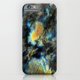 Illuminated Structure: Labradorite1 iPhone Case
