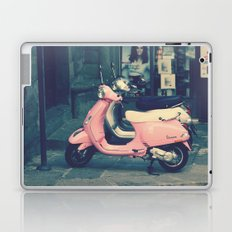 PINK VESPA Laptop & iPad Skin