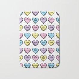 Baesic Candy Hearts - Mexican Food Bath Mat