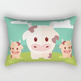 COWS Rectangular Pillow