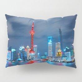 Shangai, China Pillow Sham