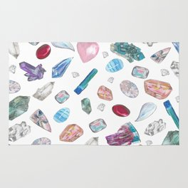 Watercolor Crystals Rug