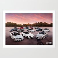 cars Art Prints featuring Cars by 1013MM