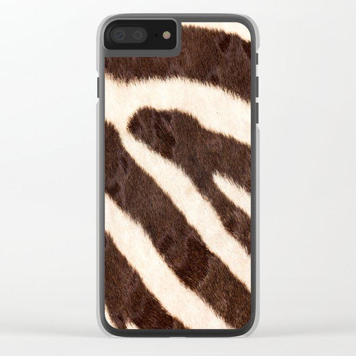 Zebra #society6 #buyart Clear iPhone Case