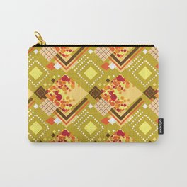 Mustard Carry-All Pouch
