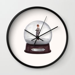 Have Yourself a Merry Lucy Christmas with Pinkie Wall Clock