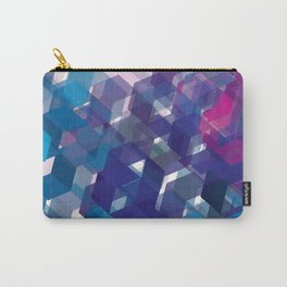 3D-blocks Carry-All Pouch
