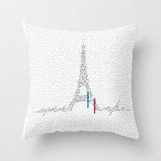 Eiffel Tower | Paris, France | Esperantos | StoryScape #1 Throw Pillow