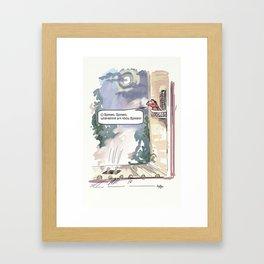 O Romeo, Romeo, wherefore art thou Romeo? Framed Art Print