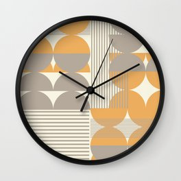 Geometrica 6 Wall Clock
