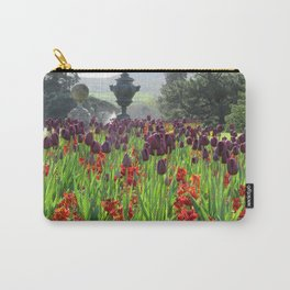 Powerscourt Tulips Carry-All Pouch