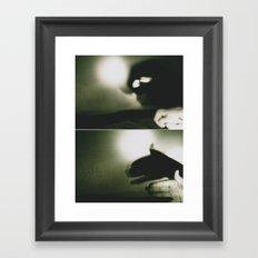 hurricane season Framed Art Print
