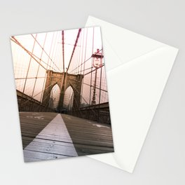 Brooklyn Bridge, New York City Stationery Cards