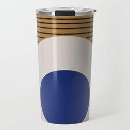 Blue Circle #1 Travel Mug