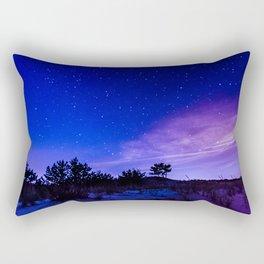 Night Sky at the Cape Rectangular Pillow