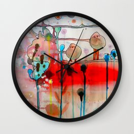 the first time Wall Clock