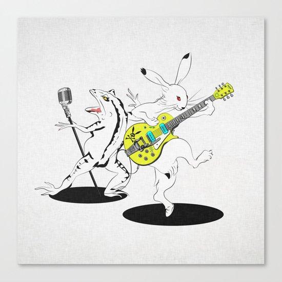 Music to Jump -鳥獣GIGA2015- Canvas Print