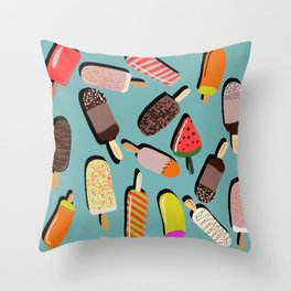 Bondi Summer Throw Pillow