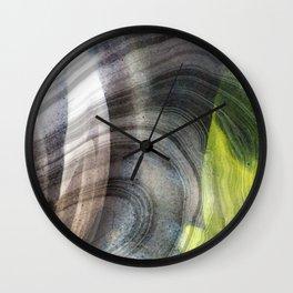 Contemporary Spirit Art - Open Soul - Sharon Cummings Wall Clock
