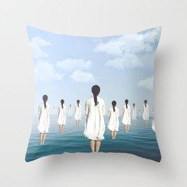 Fregoli D. Throw Pillow