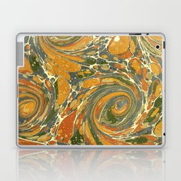 Old Marbled Paper 03 Laptop & iPad Skin