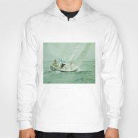sail Hoodies featuring Sail by Mary Kilbreath