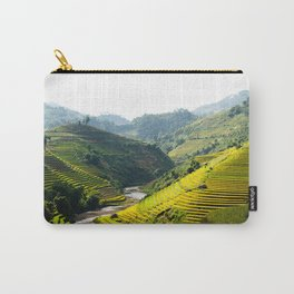 Mu Cang Chai, Rice Terrace Art Print Carry-All Pouch