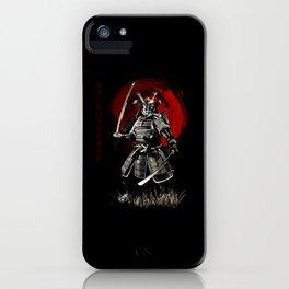 Bushido Samurai iPhone Case