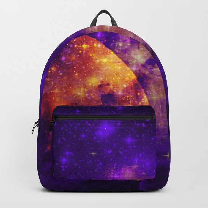 Planet, Nebula and Stars Backpack