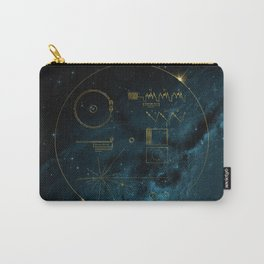 Voyager and the Golden Record - Space | Science | Sagan Carry-All Pouch