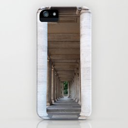 Roman colomns iPhone Case