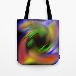 Curves of Color Tote Bag