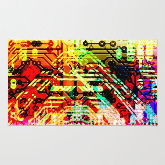 Color circuit Rug