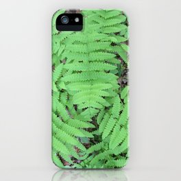 Fern From Above iPhone Case