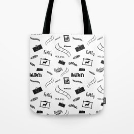 Photography pattern Tote Bag
