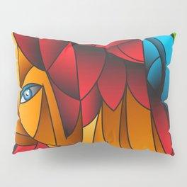 The Queen Cubism Art Pillow Sham
